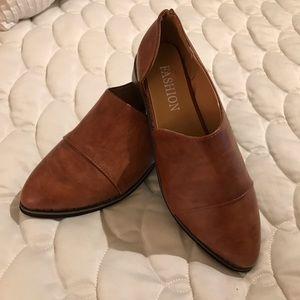 FASHION Slip On Bootie Boots 38